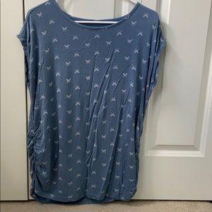 A: glow maternity shirt